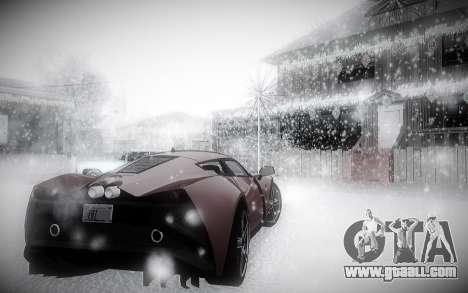Winter 2.0 ENBSeries for GTA San Andreas forth screenshot