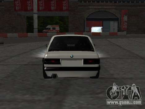 BMW M3 E30 Drift for GTA San Andreas back view