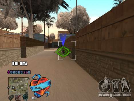 C-HUD Heart for GTA San Andreas forth screenshot