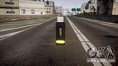 USB flash drive Sony yellow for GTA 4 second screenshot