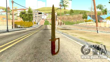Antique Cavalry Dagger from GTA 5 for GTA San Andreas