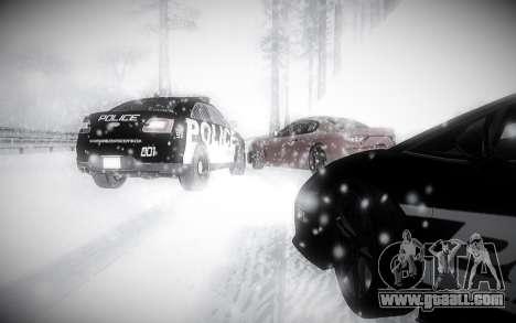 Winter 2.0 ENBSeries for GTA San Andreas fifth screenshot