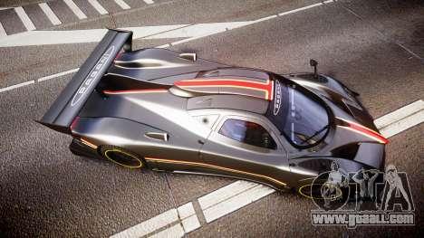 Pagani Zonda Revolution 2013 for GTA 4 right view