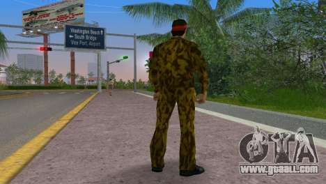 Camo Skin 19 for GTA Vice City third screenshot