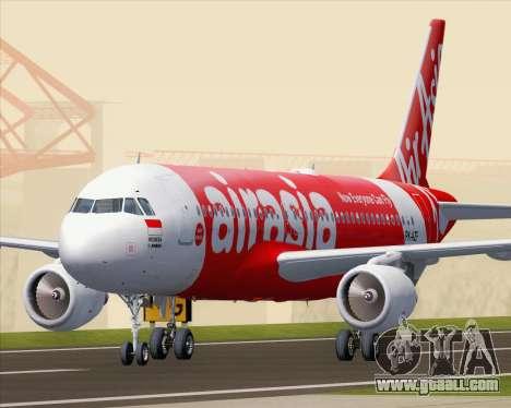 Airbus A320-200 Indonesia AirAsia for GTA San Andreas