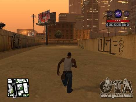 C-HUD by Granto for GTA San Andreas fifth screenshot