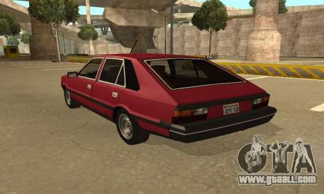 FSO Polonez 1500 for GTA San Andreas inner view