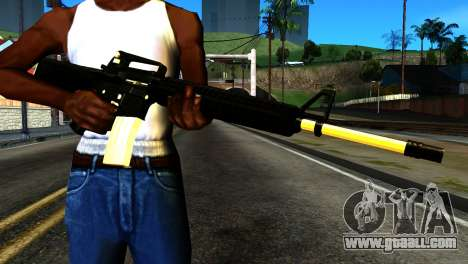 New M4 for GTA San Andreas third screenshot