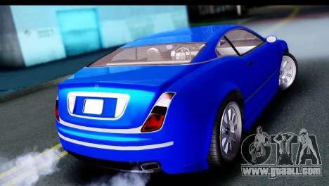 GTA 5 Enus Cognoscenti Cabrio for GTA San Andreas left view