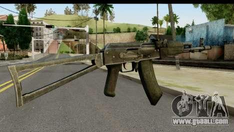 Plastic AKS-74 for GTA San Andreas second screenshot