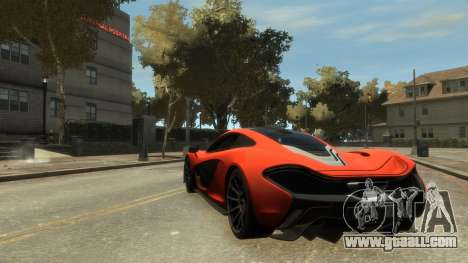 McLaren P1 2013 [EPM] for GTA 4 right view