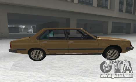Renault 18 for GTA San Andreas left view