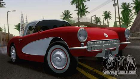 Chevrolet Corvette C1 1957 for GTA San Andreas