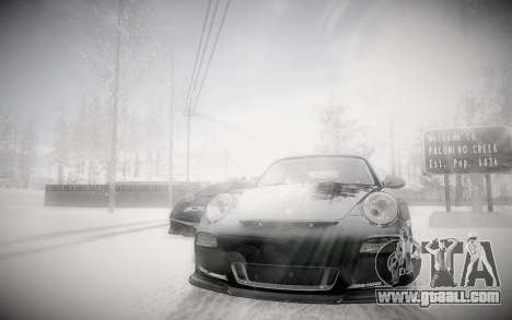 Winter 2.0 ENBSeries for GTA San Andreas
