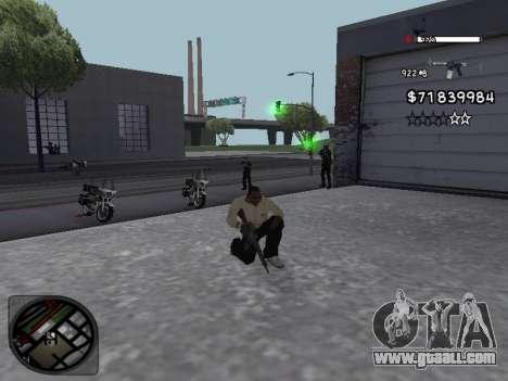 C-HUD White for GTA San Andreas third screenshot