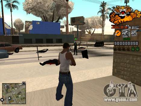C-HUD King for GTA San Andreas fifth screenshot