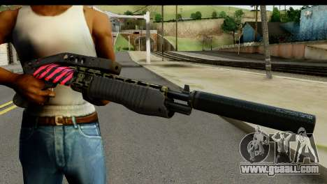 Red Tiger Combat Shotgun for GTA San Andreas