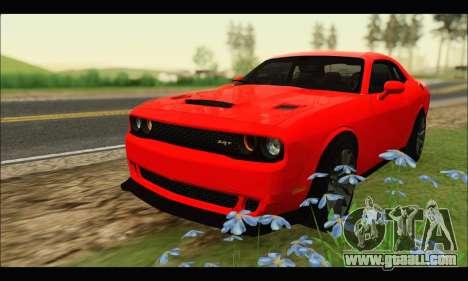 Dodge Challenger SRT HELLCAT 2015 for GTA San Andreas