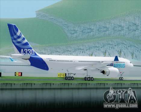 Airbus A330-200 Airbus S A S Livery for GTA San Andreas side view