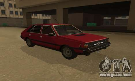 FSO Polonez 1500 for GTA San Andreas back left view