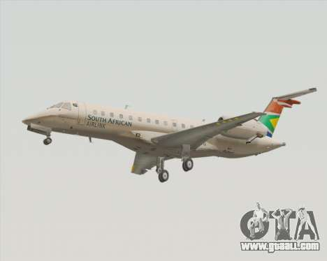 Embraer ERJ-135 South African Airlink for GTA San Andreas left view