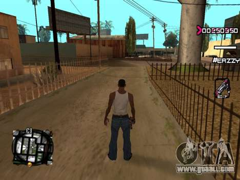 C-HUD WanTed for GTA San Andreas