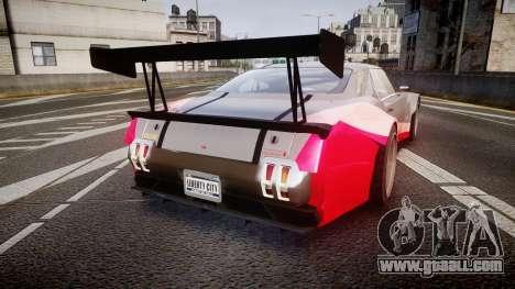 Declasse Sabre GT-R for GTA 4 back left view