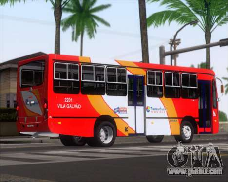 Caio Foz Super I 2006 Transurbane Guarulhoz 2201 for GTA San Andreas back view