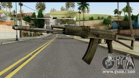 Plastic AKS-74 for GTA San Andreas