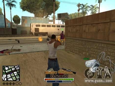 C-HUD для Army for GTA San Andreas forth screenshot