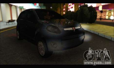 Fiat Palio 2013 for GTA San Andreas left view
