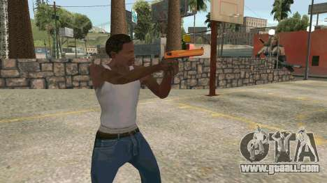 Orange Desert Eagle for GTA San Andreas third screenshot