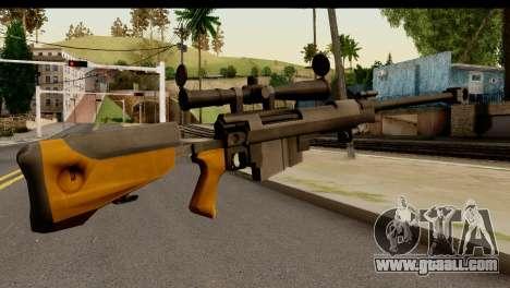 Sinons PGM Ultima Ratio Hecate II for GTA San Andreas second screenshot