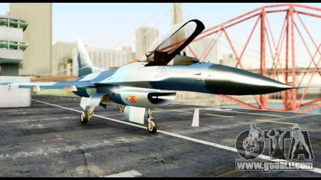 F-16 Aggressor Alaska for GTA San Andreas