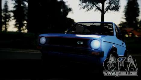 Volkswagen Golf Mk1 GTD for GTA San Andreas