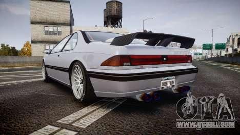 Vapid Fortune XTR for GTA 4 back left view