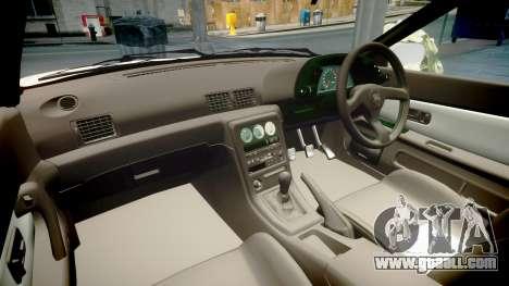 Nissan Skyline R32 GT-R 1993 for GTA 4 inner view