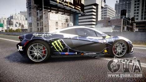 McLaren P1 2014 [EPM] Ken Block for GTA 4 left view