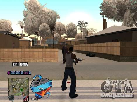 C-HUD Heart for GTA San Andreas sixth screenshot
