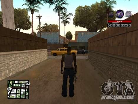 C-HUD by Granto for GTA San Andreas