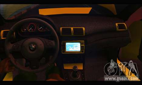 BMW M3 Coupe Tuned for GTA San Andreas inner view