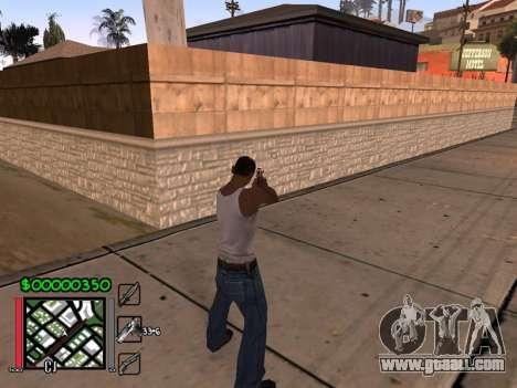 Classic C-HUD 3.4 by Niko for GTA San Andreas second screenshot