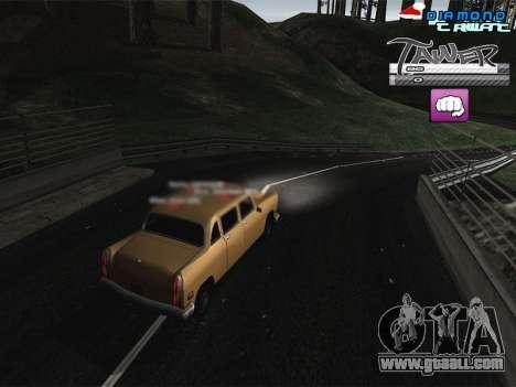 C-HUD TAWER by Vitya for GTA San Andreas