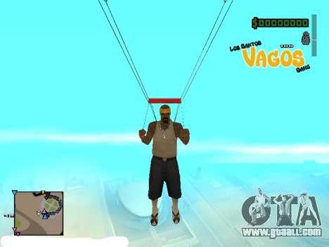C-HUD Vagos for GTA San Andreas second screenshot