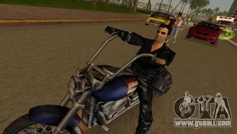 Tommi Black Skin for GTA Vice City