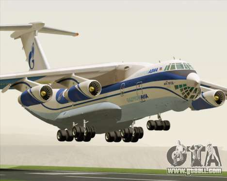 IL-76TD Gazprom Avia for GTA San Andreas