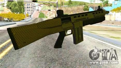 Assault Shotgun from GTA 5 for GTA San Andreas second screenshot