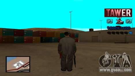 C-HUD Tawer for GTA San Andreas second screenshot