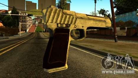Desert Eagle from GTA 5 for GTA San Andreas second screenshot