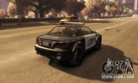 GTA V Ubermacht Sentinel Police [ELS] for GTA 4 left view